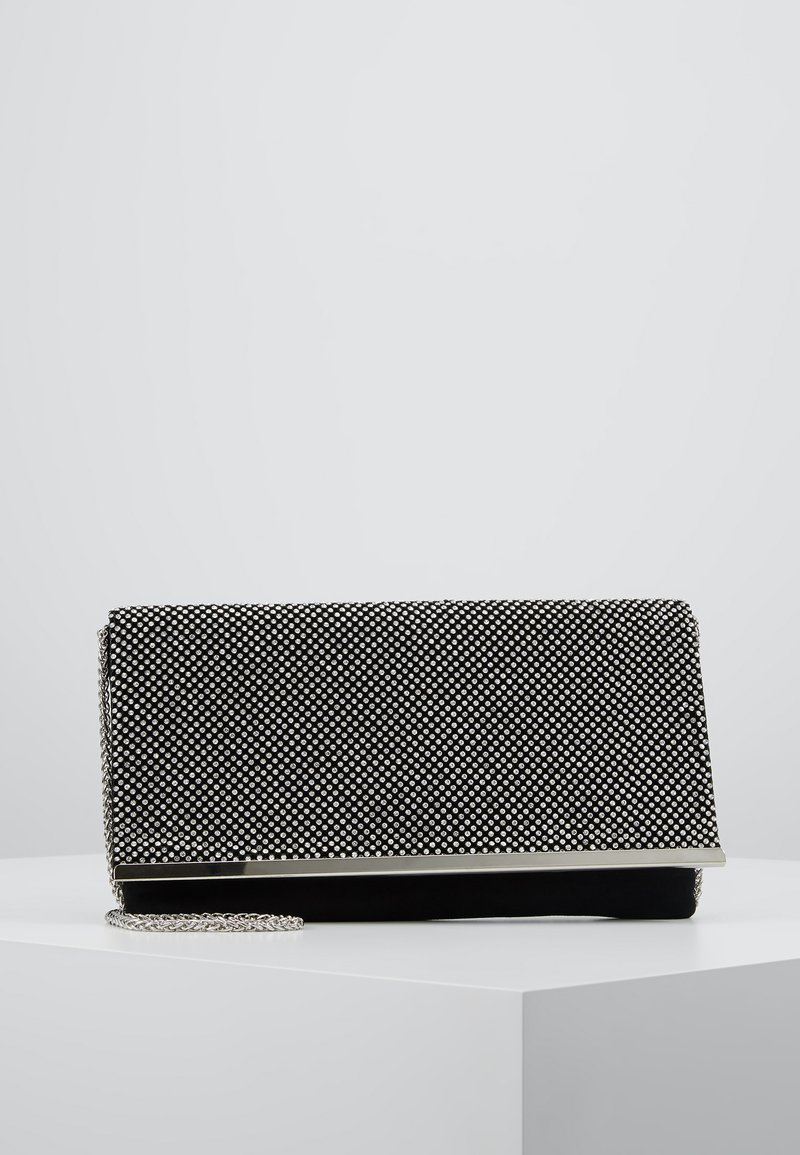 Dorothy Perkins - DIAMONTE CHAINMAIL CLUTCH - Clutch - silver