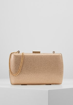 BOX - Clutch - rose gold-coloured