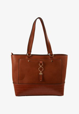 POCKET FRONT - Bolso de mano - tan