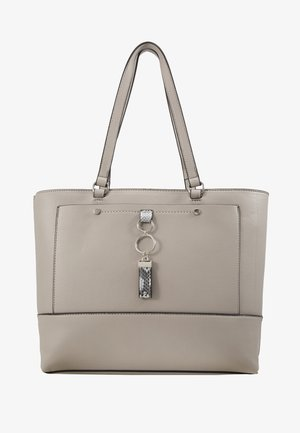 POCKET FRONT - Handbag - grey