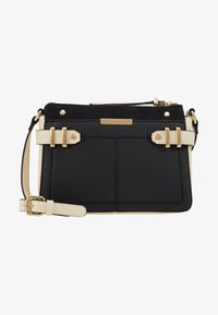 Dorothy Perkins - DOUBLE BAR CROSS BODY - Olkalaukku - black/stone - 5
