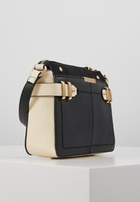 Dorothy Perkins - DOUBLE BAR CROSS BODY - Olkalaukku - black/stone - 3