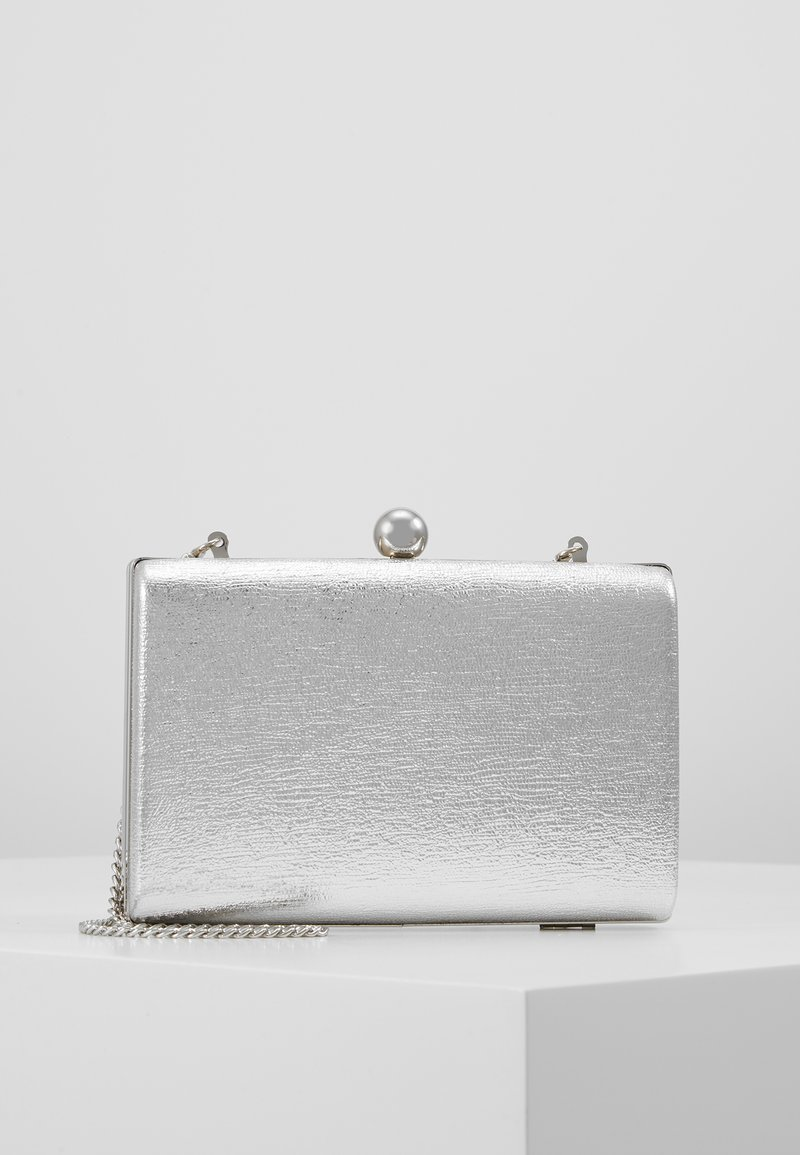 Dorothy Perkins - BALL CLASP BOX  - Clutch - silver