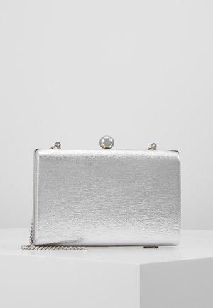 BALL CLASP BOX  - Clutch - silver