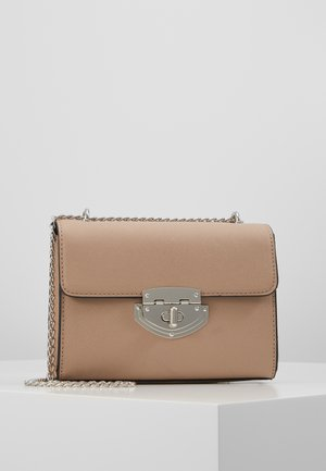 LOCK CHAIN XBODY - Sac bandoulière - taupe