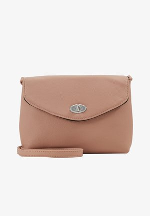TWIST LOCK XBODY - Sac bandoulière - blush