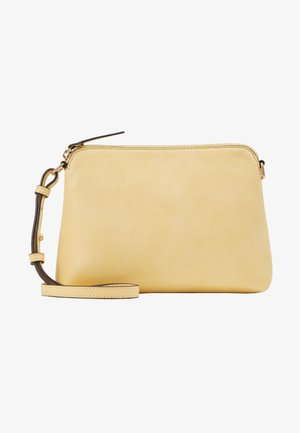 ZIP TOP CROSS BODY - Sac bandoulière - lemon