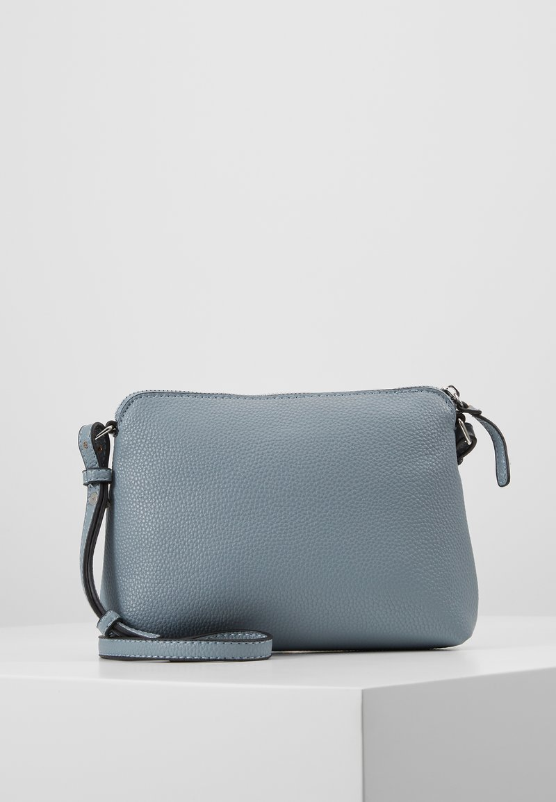 Dorothy Perkins - ZIP TOP CROSS BODY - Borsa a tracolla - pale blue