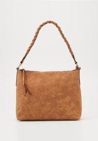 Dorothy Perkins - PLAIT HANDLE - Kabelka - tan - 0