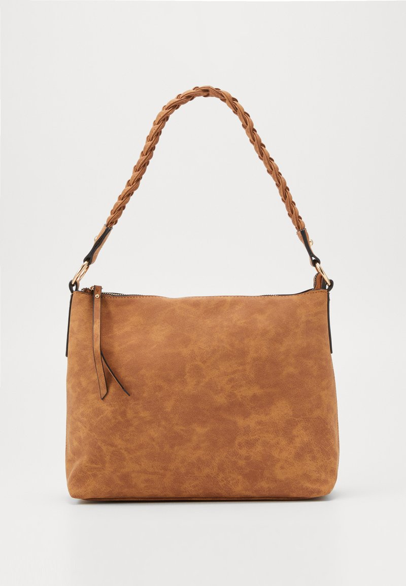 Dorothy Perkins - PLAIT HANDLE - Kabelka - tan