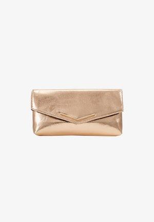 STITCHED BAR - Clutch - rose gold