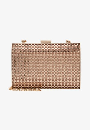 HONEYCOMB BOX  - Clutch - rose gold-coloured