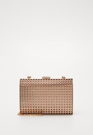 HONEYCOMB BOX  - Pikkulaukku - rose gold-coloured