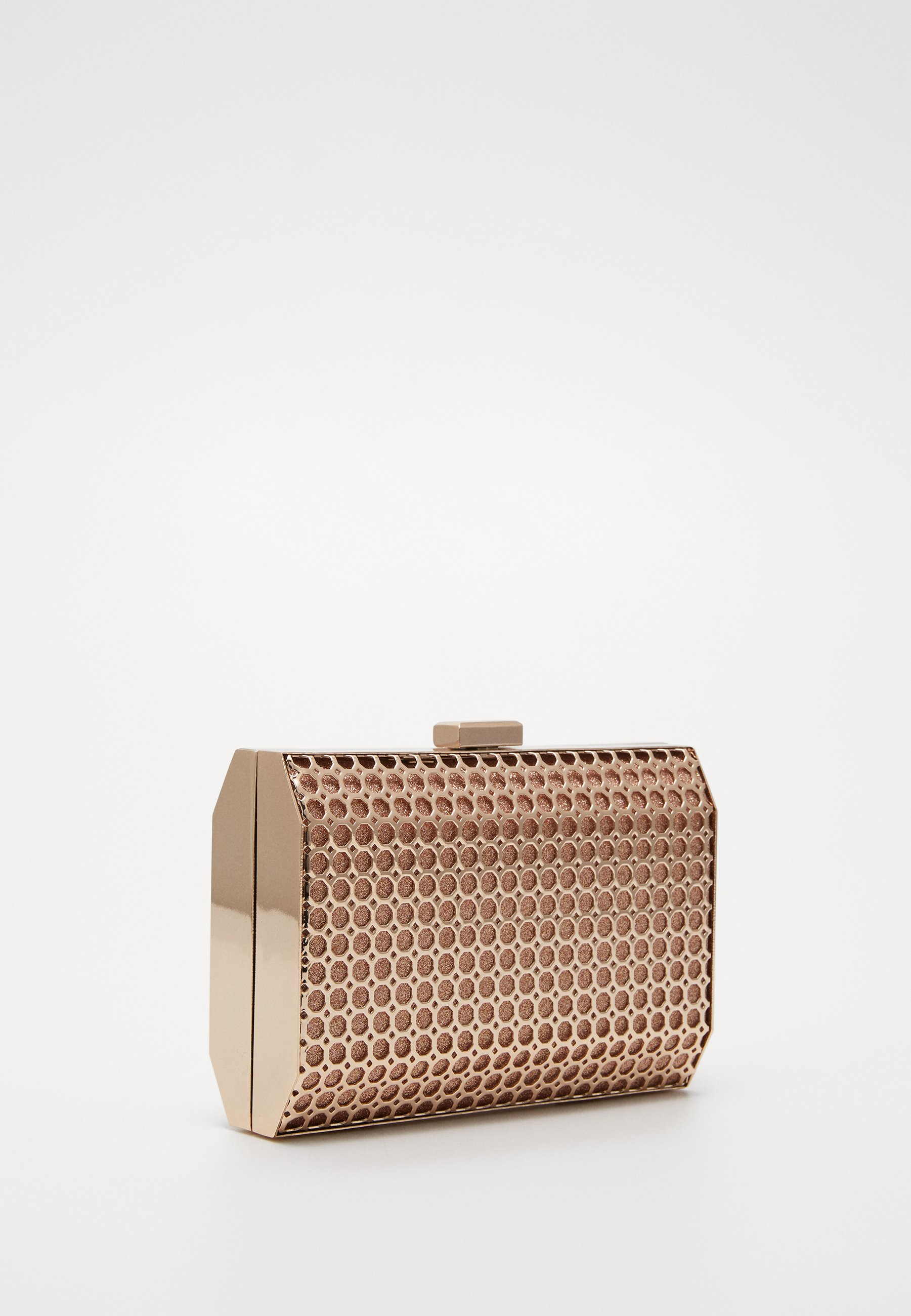 Dorothy Perkins Honeycomb Box - Pochette Rose Gold-coloured
