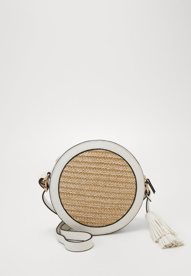 MIX CIRCLE CROSS BODY - Umhängetasche - nude