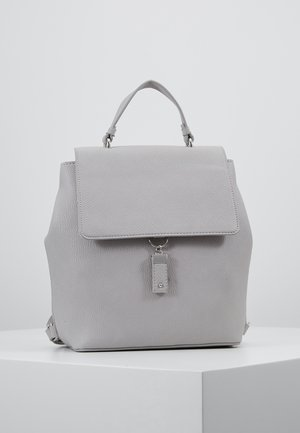 TAB DETAIL BACKPACK - Rucksack - light grey