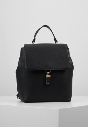 TAB DETAIL BACKPACK - Rucksack - black