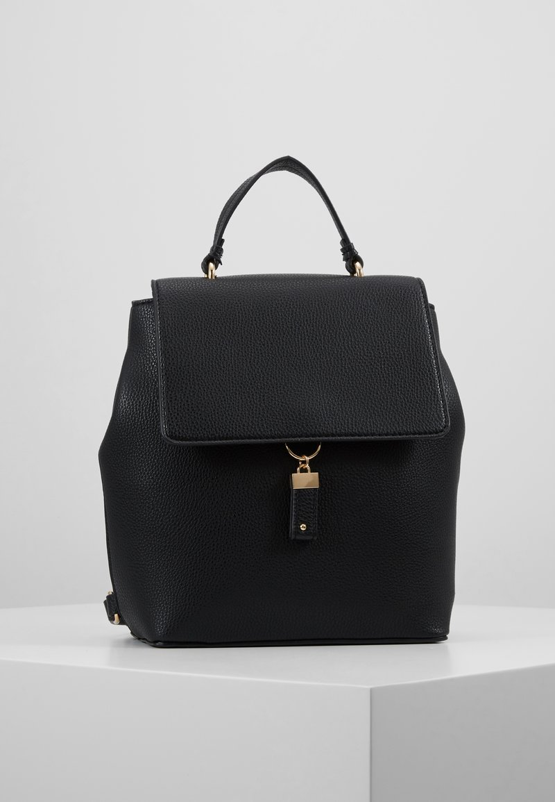 Dorothy Perkins - TAB DETAIL BACKPACK - Ryggsekk - black