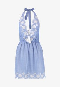 Dorothy Perkins - BRODERY DRESS - Complementos de playa - chambray - 4