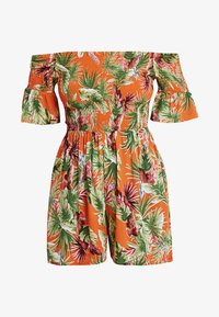Dorothy Perkins - TROPIC SHIRRED - Tuta jumpsuit - orange - 4