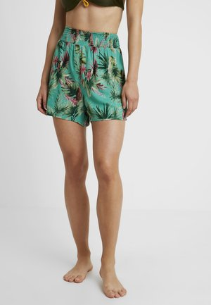 TROPIC SHIRRED SHORT - Complementos de playa - jade