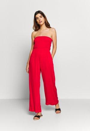 PLAIN SHIRRED CRINKLE - Beach accessory - red