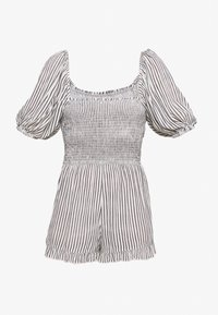 Dorothy Perkins - SHIRRED PLAYSUIT - Overal - ivory - 1