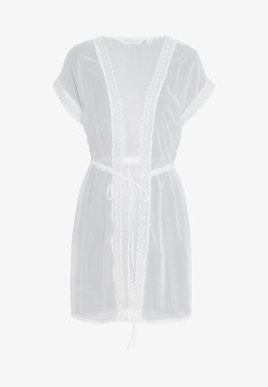TRIM COVER UP - Strandaccessoire - ivory