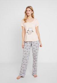 Dorothy Perkins - NIGHT OWL SET - Pyžamová sada - pink - 0