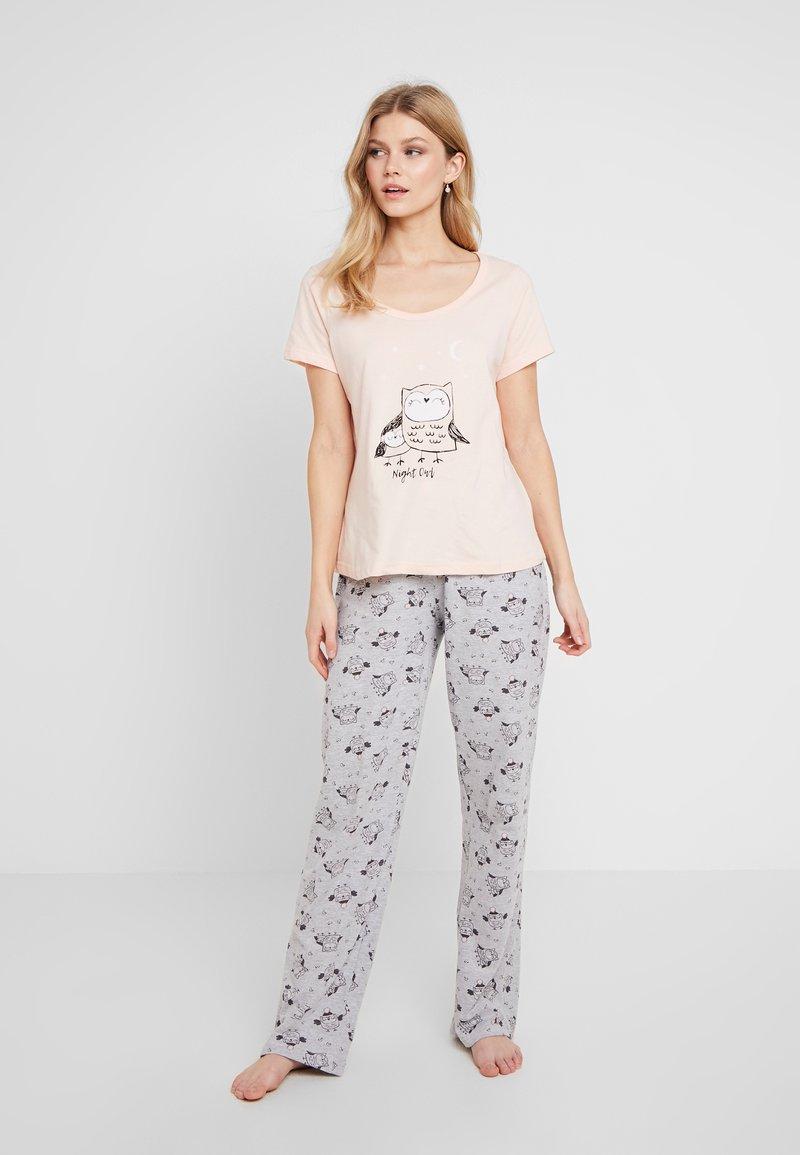 Dorothy Perkins - NIGHT OWL SET - Pyžamová sada - pink