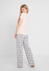 Dorothy Perkins - NIGHT OWL SET - Pyžamová sada - pink - 2