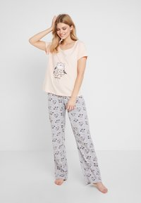 Dorothy Perkins - NIGHT OWL SET - Pyžamová sada - pink - 1