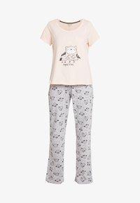 Dorothy Perkins - NIGHT OWL SET - Pyžamová sada - pink - 4