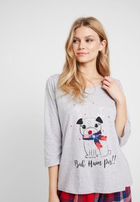 Dorothy Perkins - BAH HUM CHECK SET - Pyjama - light grey - 5