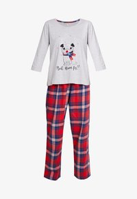 Dorothy Perkins - BAH HUM CHECK SET - Pyjama - light grey - 4