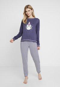Dorothy Perkins - STRIPE OWL SET - Pyžamová sada - navy - 0