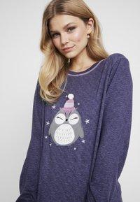 Dorothy Perkins - STRIPE OWL SET - Pyžamová sada - navy - 3