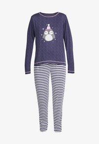 Dorothy Perkins - STRIPE OWL SET - Pyžamová sada - navy - 4