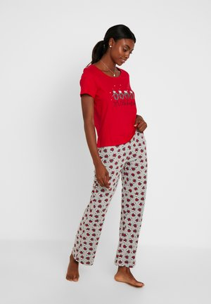 ITS COLD OUTSIDE FOLDED SET - Pyjamas - red