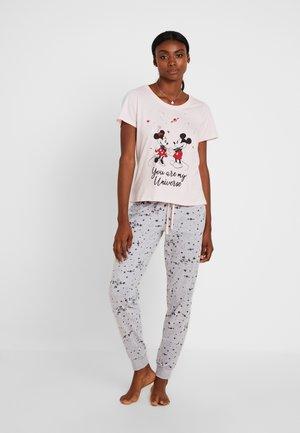 MINNIE & MICKEY DISNEY SET - Pyžamová sada - pink