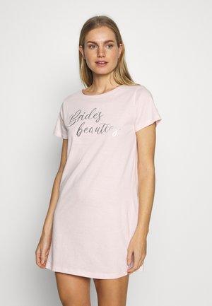 BRIDES BEAUTIES NIGHTIE - Noční košile - blush