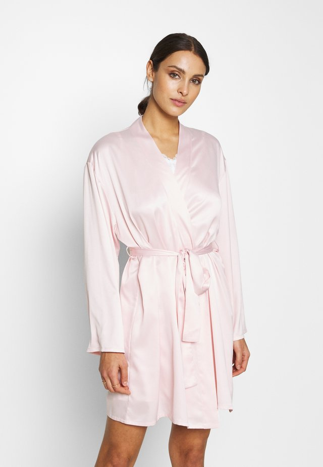 BRIDES BEAUTIES ROBE - Badjas - blush