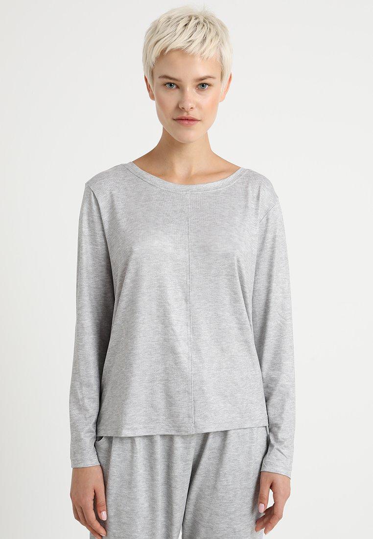 Dorothy Perkins - LONG SLEEVE - Haut de pyjama - grey