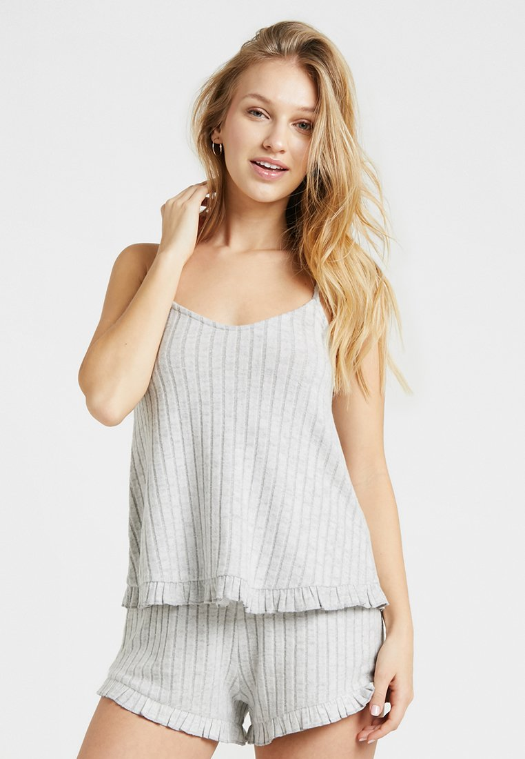 Dorothy Perkins - CAMI - Pyjama top - grey