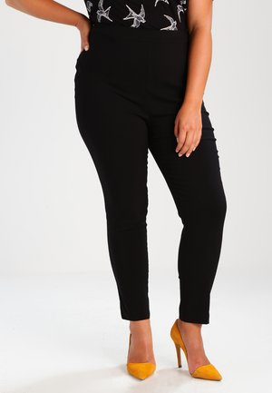 PULON - Trousers - black
