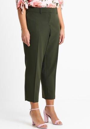 ANKLE GRAZER TROUSER - Pantalones - khaki