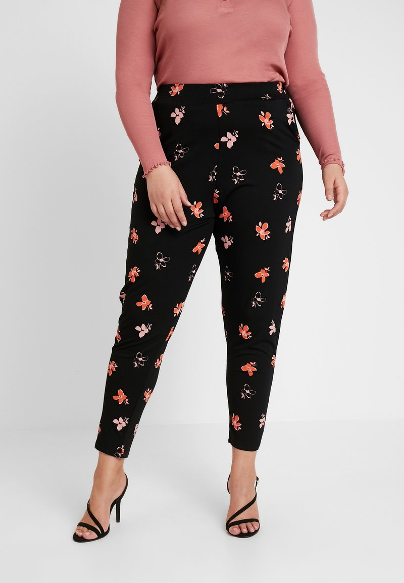 Dorothy Perkins Curve - DITSY PRINTED JOGGER - Trousers - multi-coloured