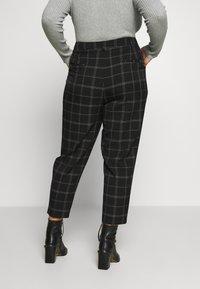 Dorothy Perkins Curve - ANKLE GRAZER - Bukse - black/port - 2