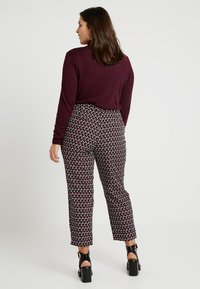 Dorothy Perkins Curve - PRINTED ANKLE GRAZERS - Kalhoty - multi - 2