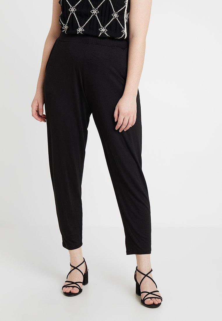 Dorothy Perkins Curve - PLAIN - Pantalones - black